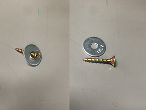 Deck Screws and Washers