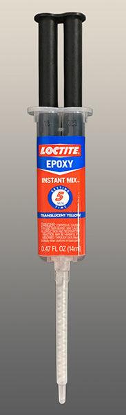 Loctite 5-minute epoxy syringe